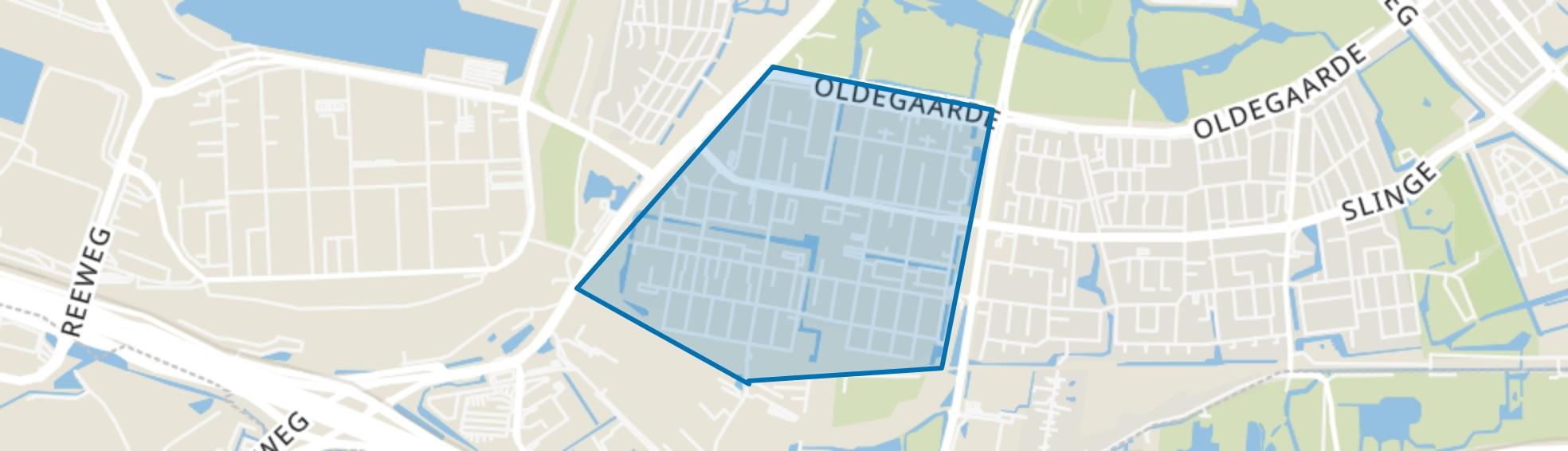 Pendrecht, Rotterdam map
