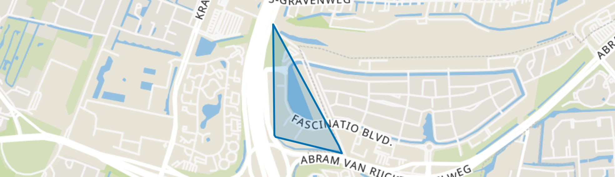 Rivium, Rotterdam map