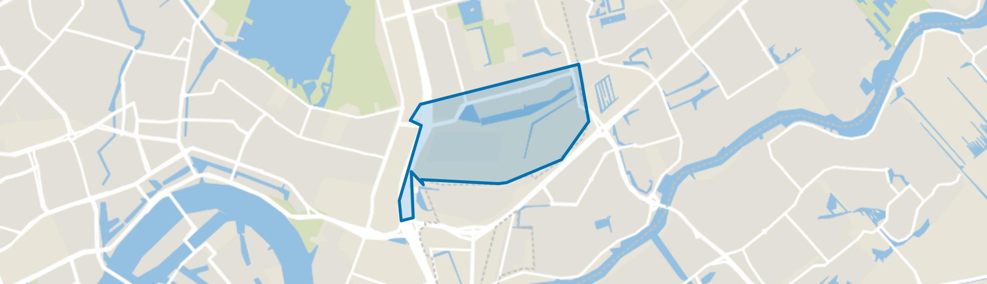 's-Gravenland, Rotterdam map