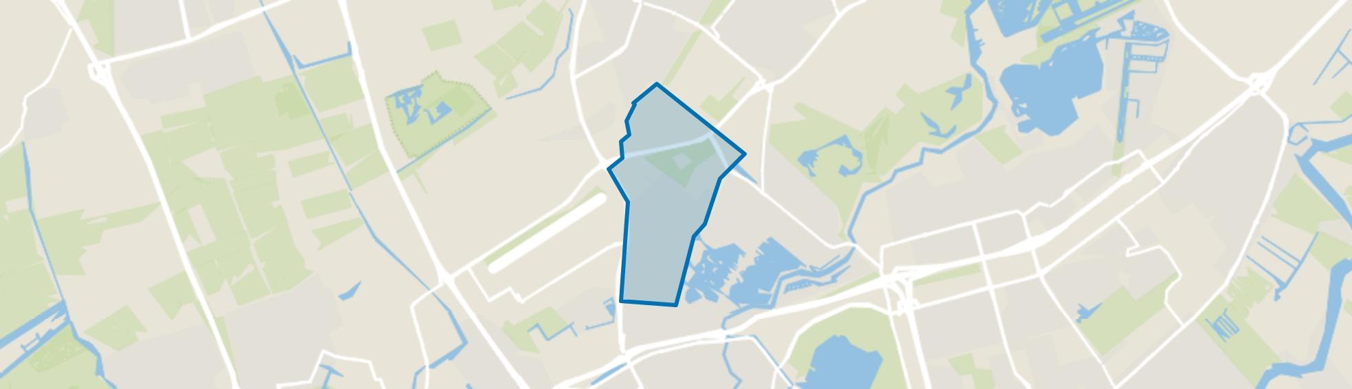Schiebroek, Rotterdam map