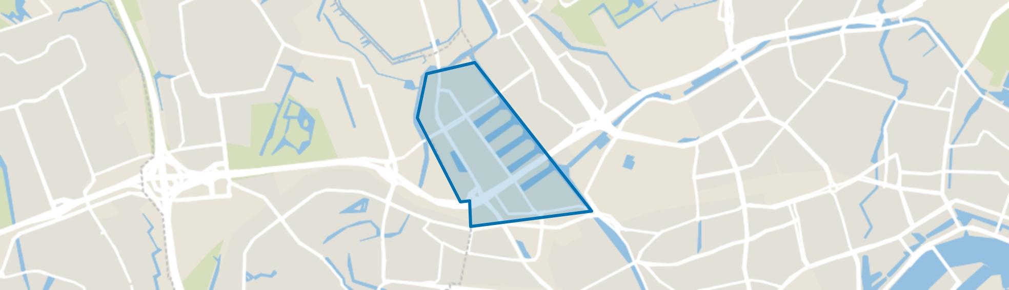 Spaanse Polder, Rotterdam map