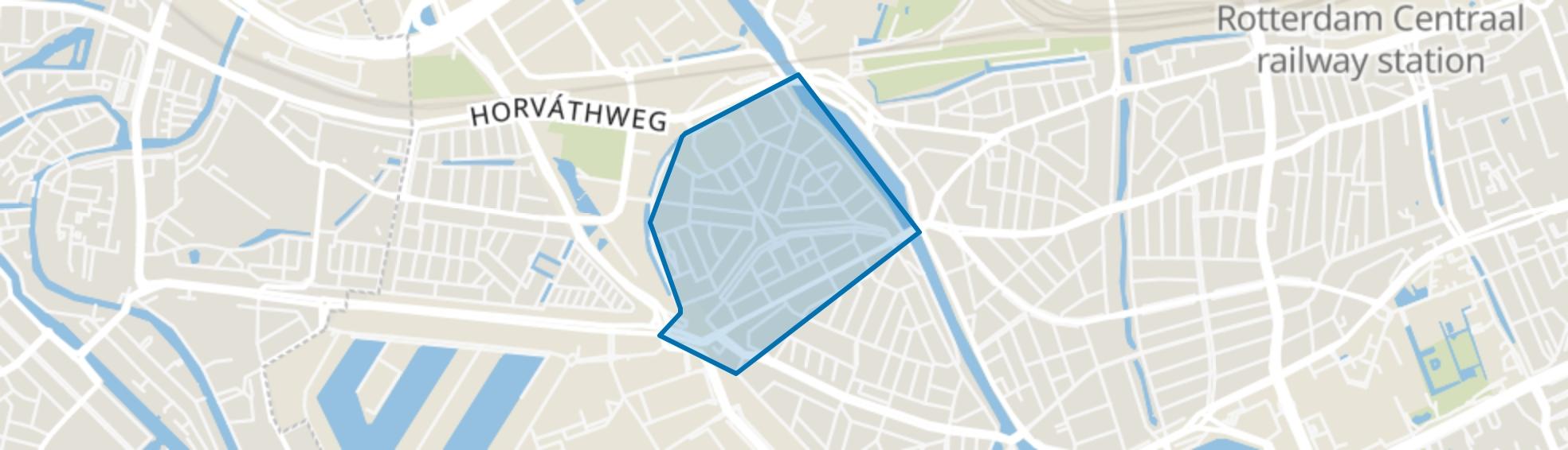 Spangen, Rotterdam map
