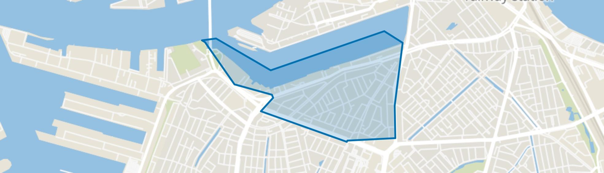Tarwewijk, Rotterdam map