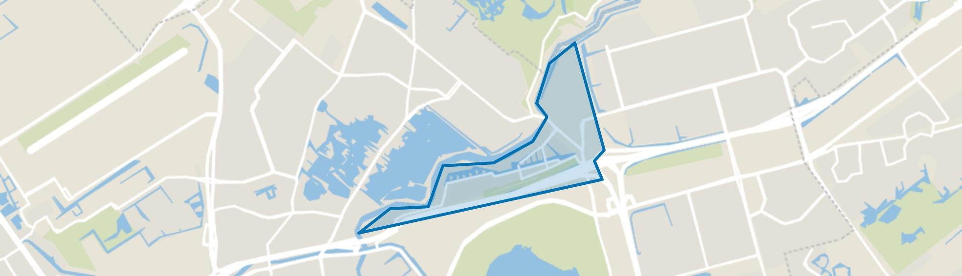 Terbregge, Rotterdam map