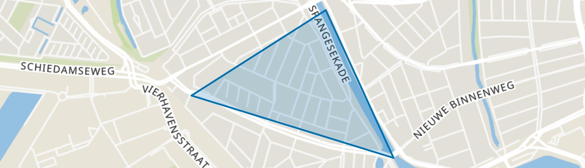 Tussendijken, Rotterdam map