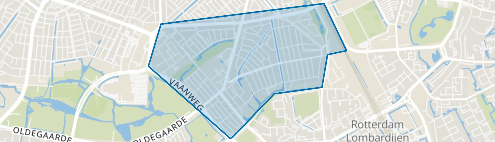 Vreewijk, Rotterdam map