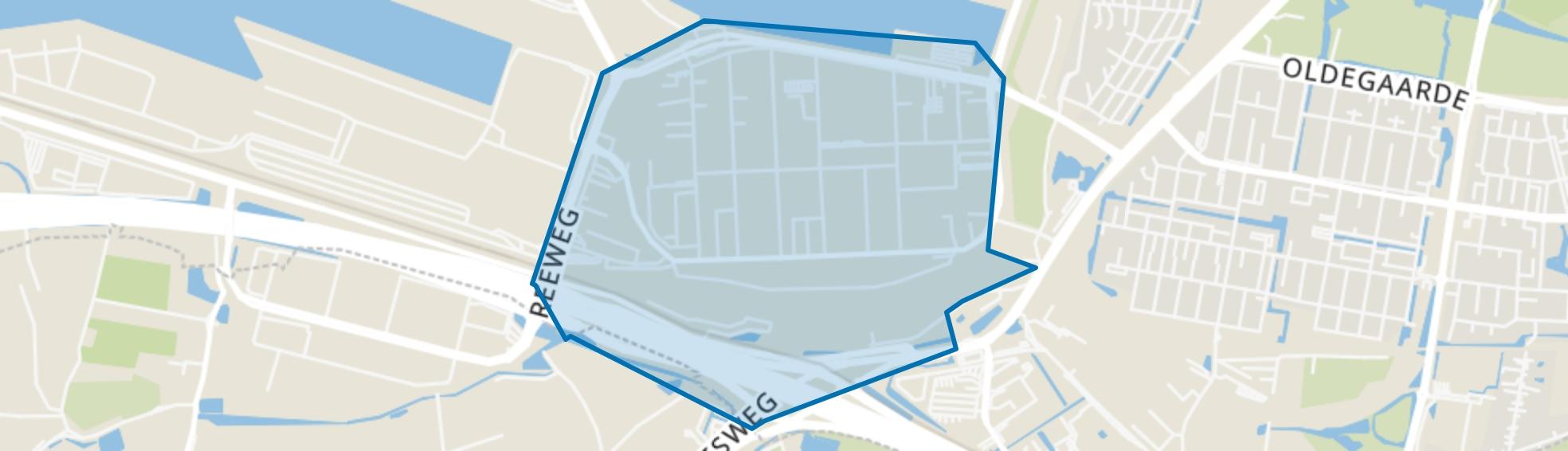 Waalhaven Zuid, Rotterdam map