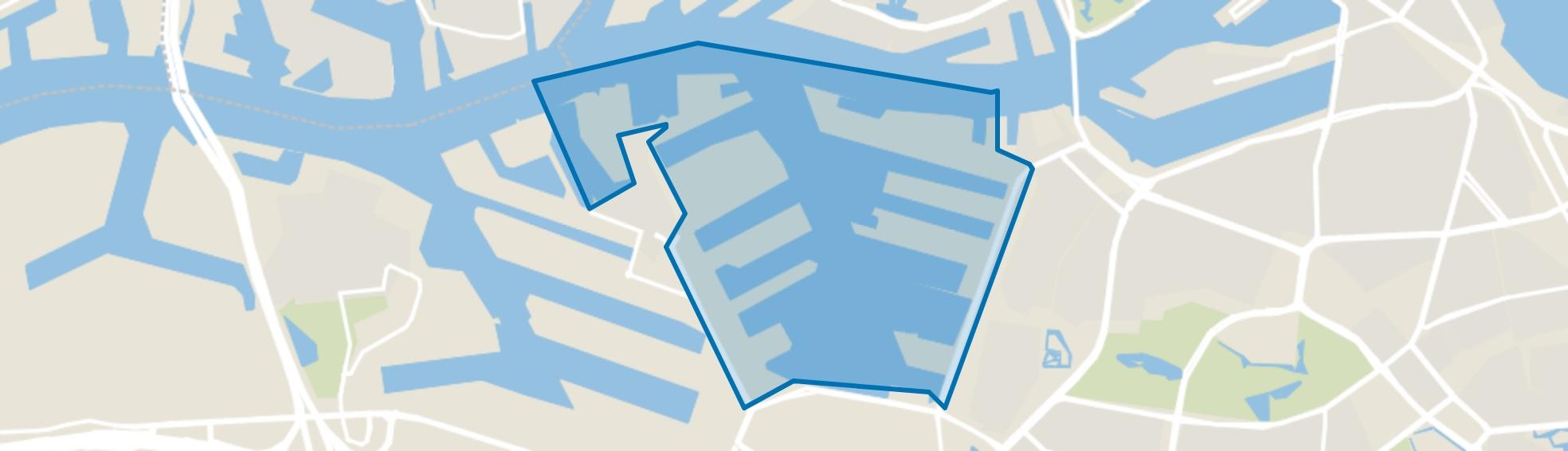 Waalhaven, Rotterdam map