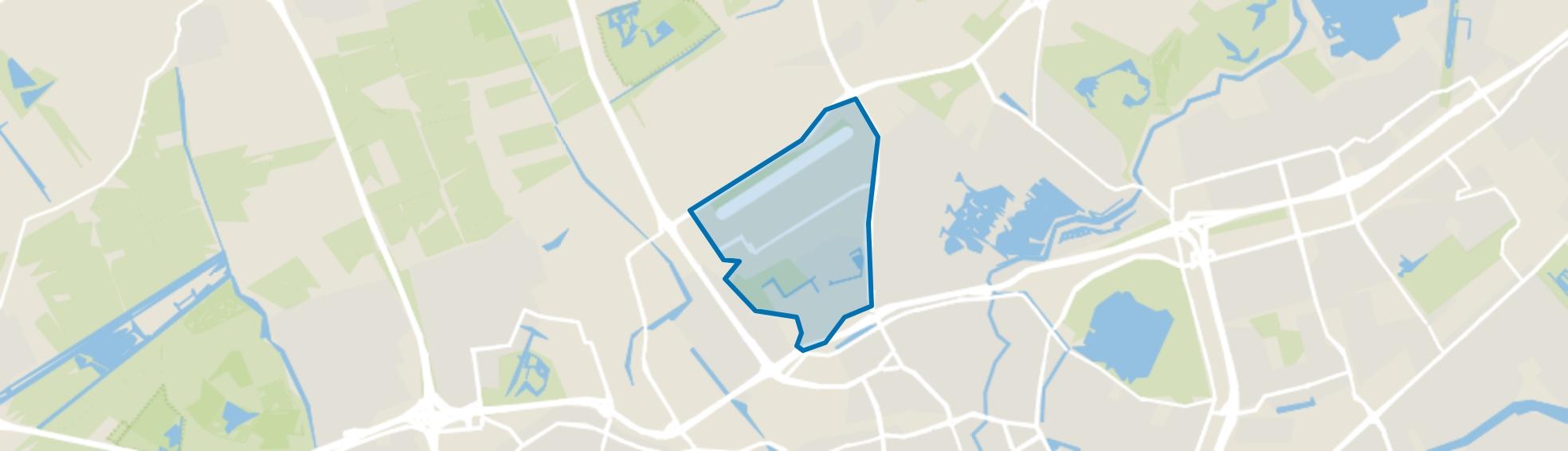 Zestienhoven, Rotterdam map