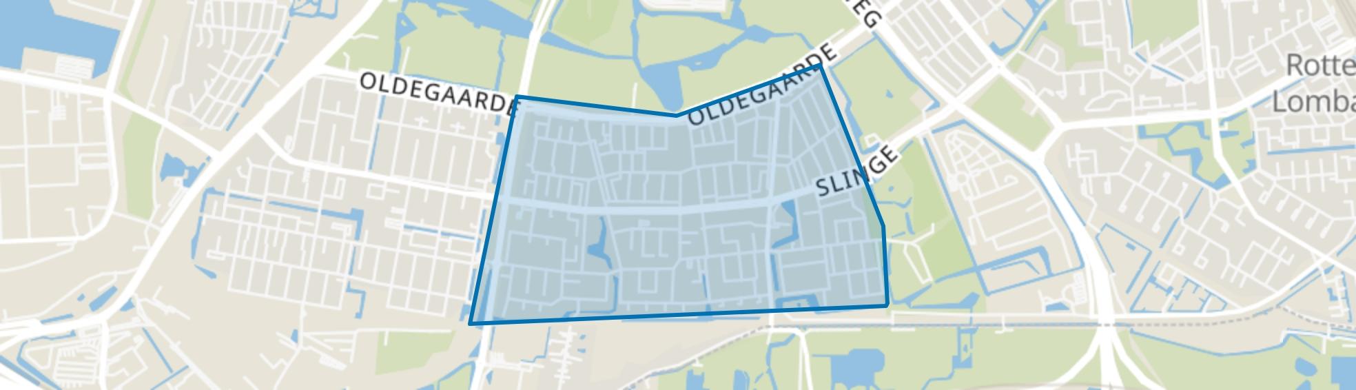 Zuidwijk, Rotterdam map