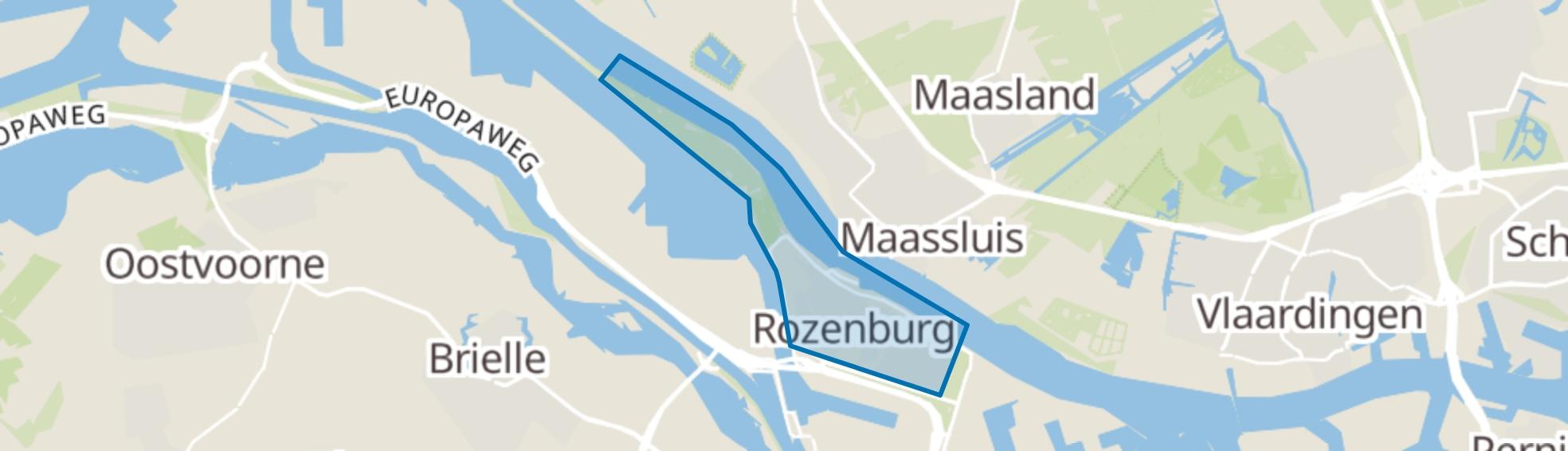 Rozenburg (ZH) map