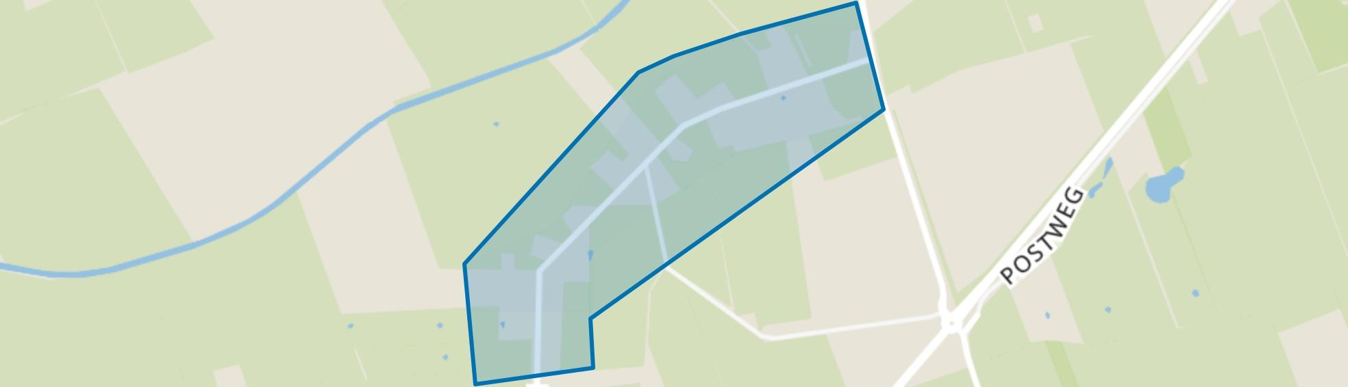 Hees, Ruinen (Gem. De Wolden) map
