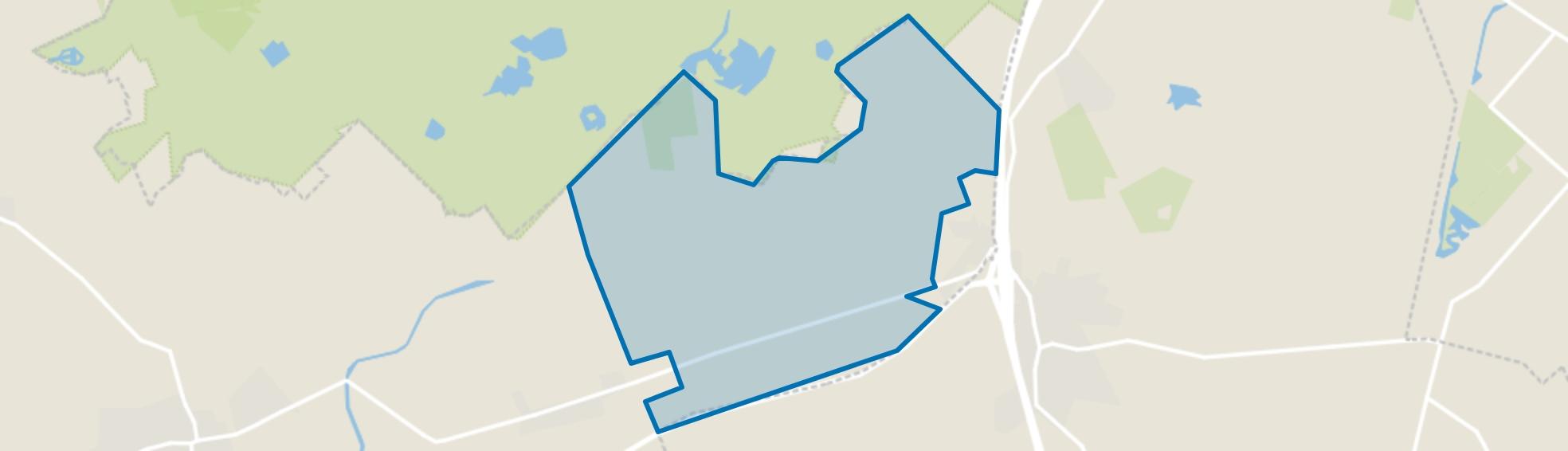 Verspreide huizen Pesse, Ruinen (Gem. De Wolden) map