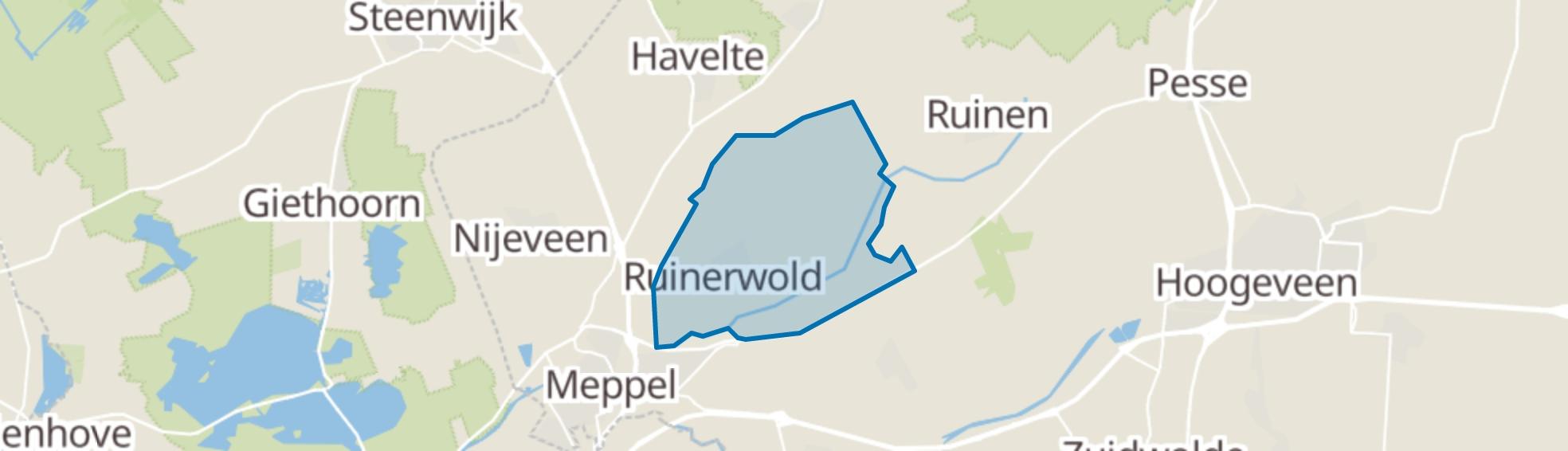 Ruinerwold map
