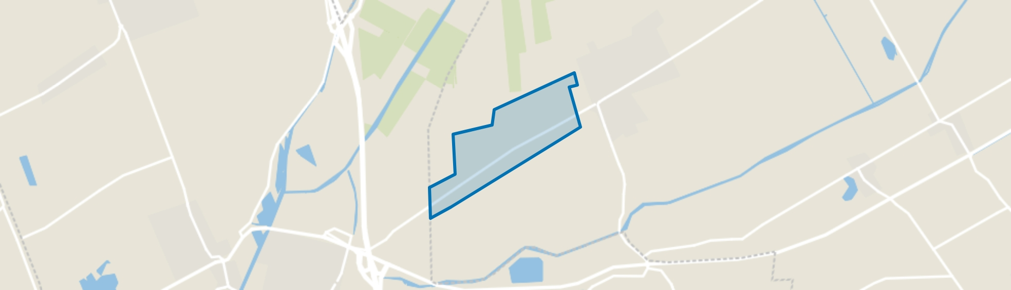 Haakswold, Ruinerwold map