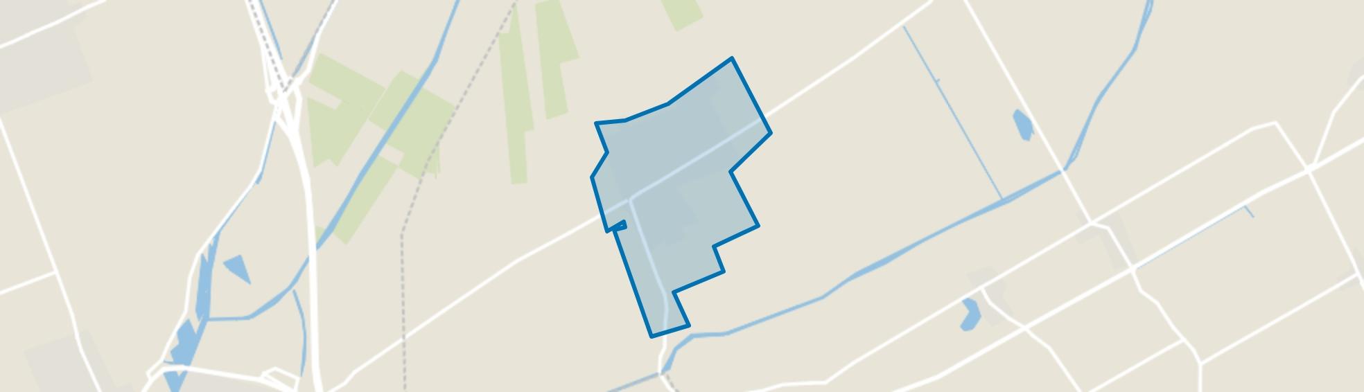 Ruinerwold, Ruinerwold map