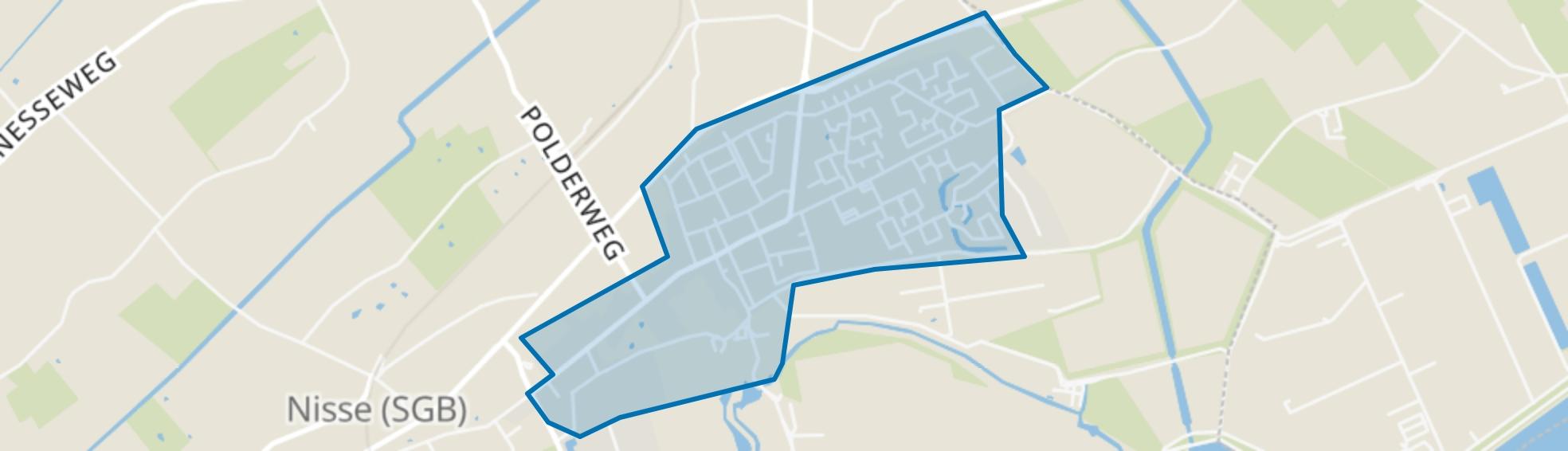 's-Gravenpolder (Kern), 's-Gravenpolder map