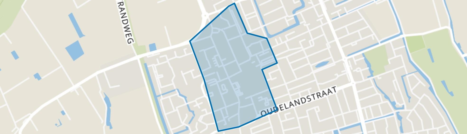 centrumgebied 's-Gravenzande, 's-Gravenzande map