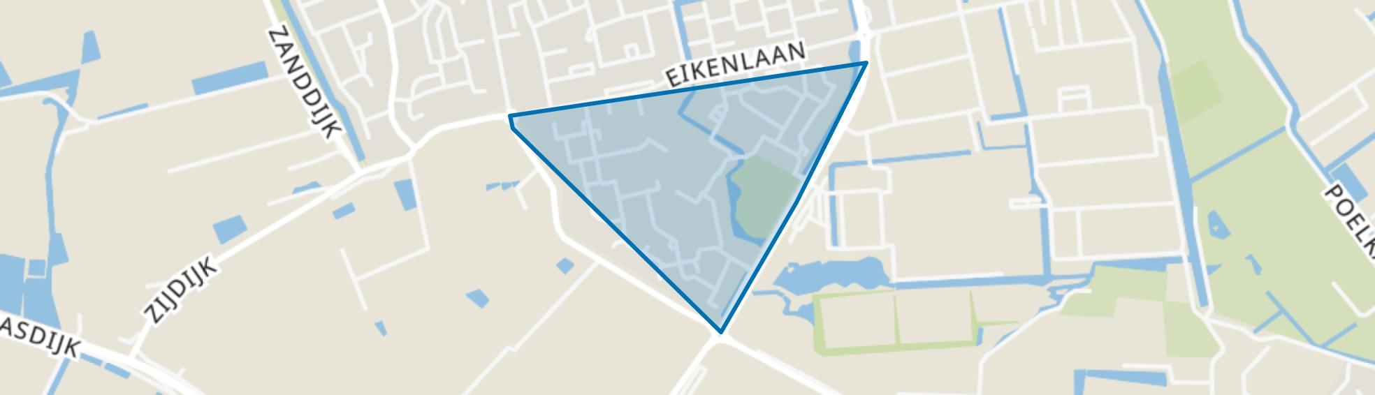 Edelstenenwijk, 's-Gravenzande map