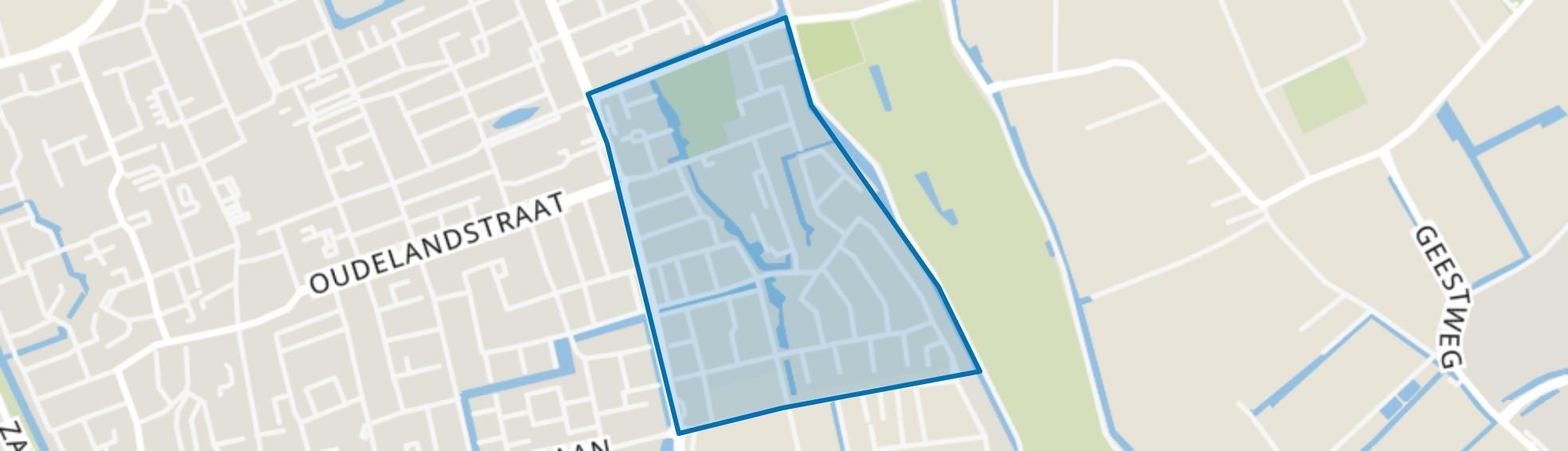Nieuwe Vaart, 's-Gravenzande map
