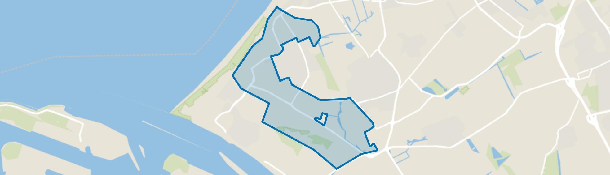 's-Gravenzande Buitengebied, 's-Gravenzande map