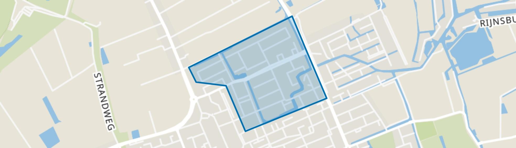 Vreeburgh, 's-Gravenzande map