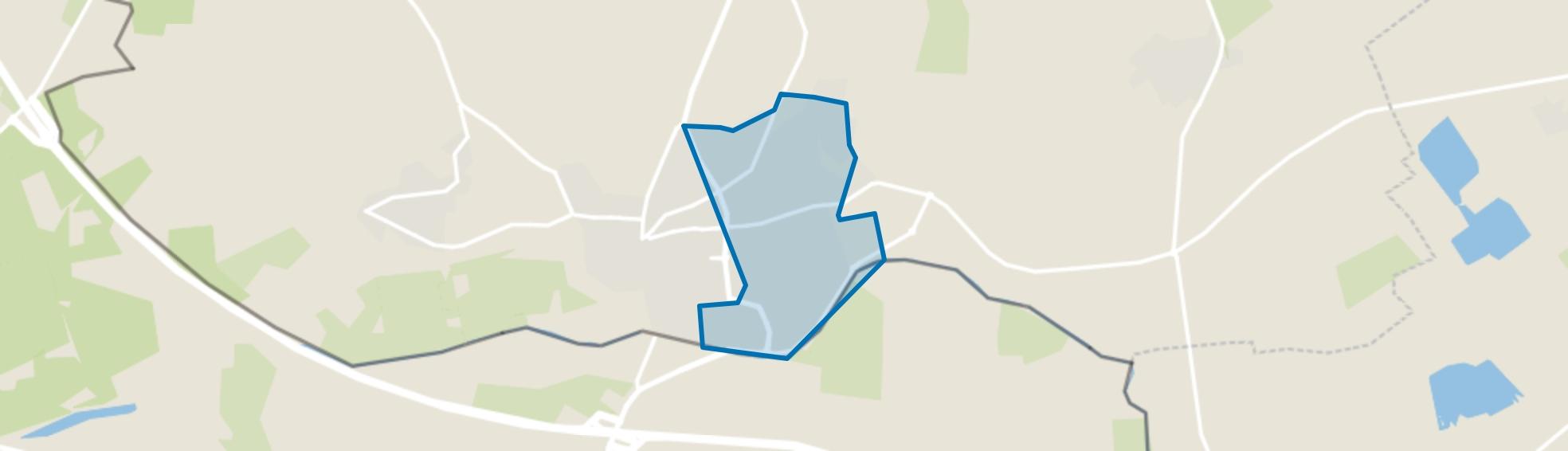 's-Heerenberg, oostelijke uitbreiding, 's-Heerenberg map