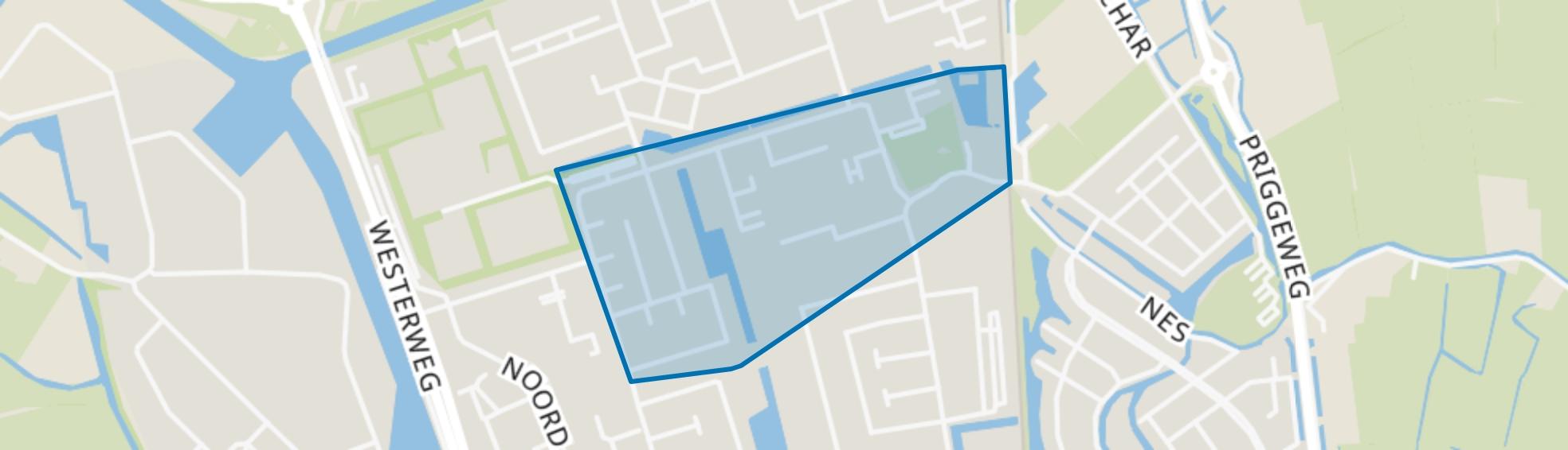 Groeneweg-Zuid, Schagen map