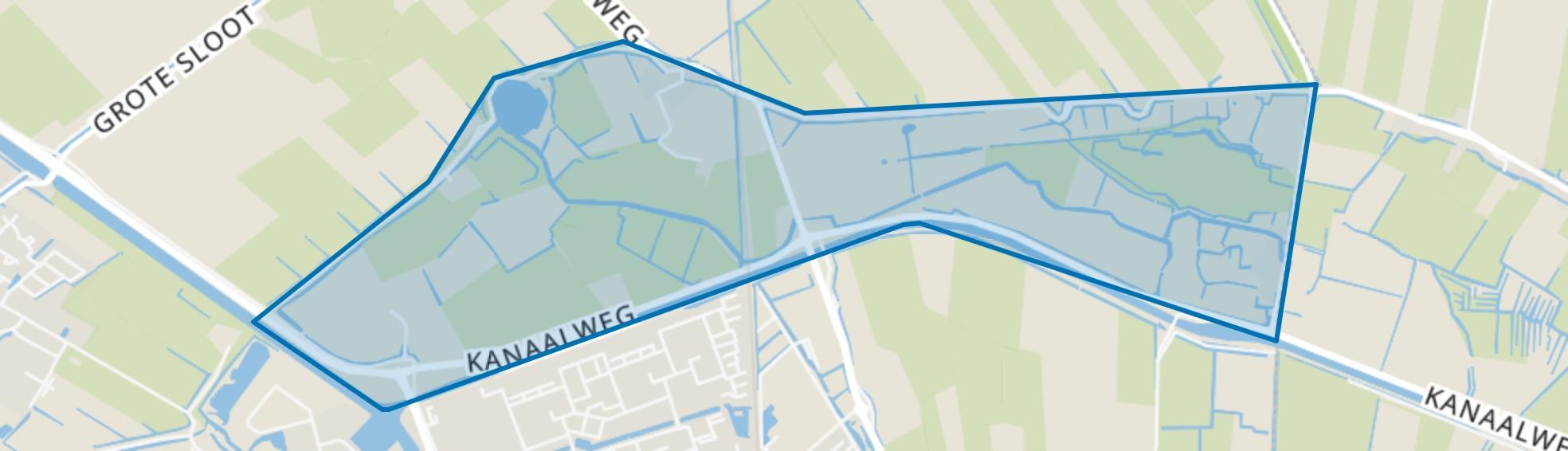 Keinse, 't Wad en Buitengebied, Schagen map