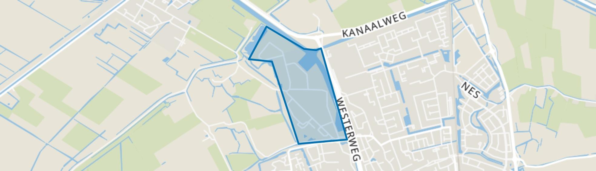 Lagedijk, Schagen map