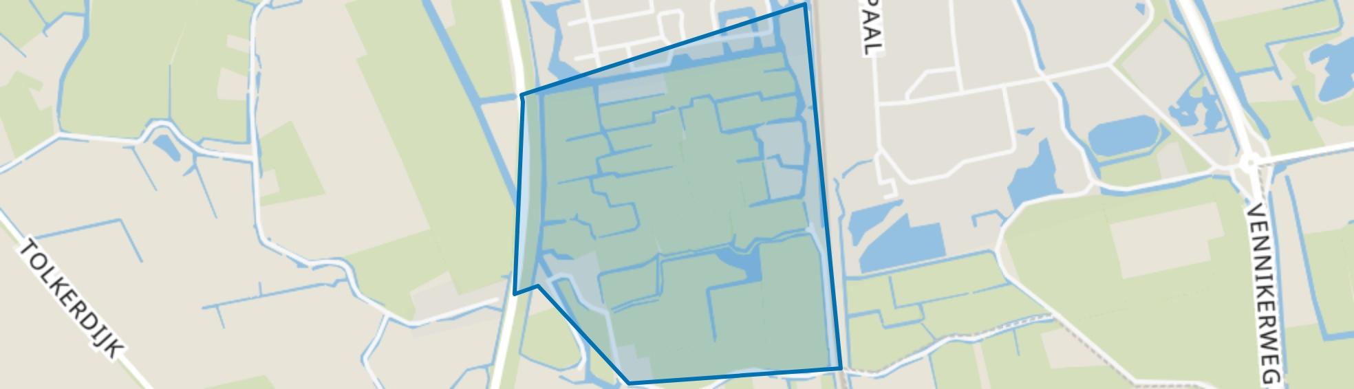 Muggenburg-Zuid, Schagen map