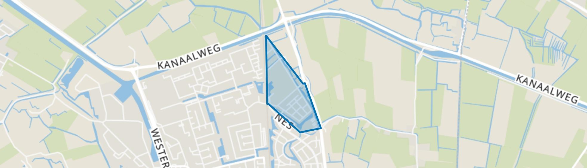 Nes-Noord, Schagen map