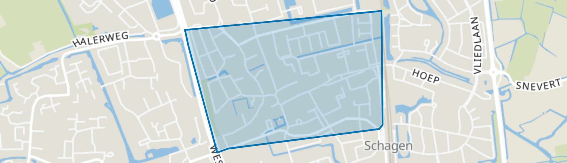 Schagen-Centrum, Schagen map