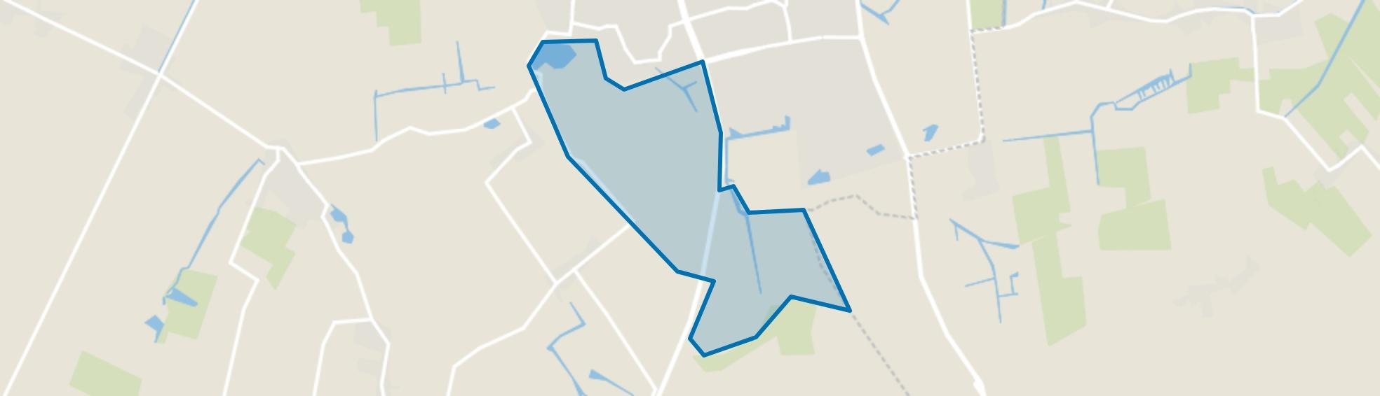 Tolke, Tjallewal en Buitengebied, Schagen map