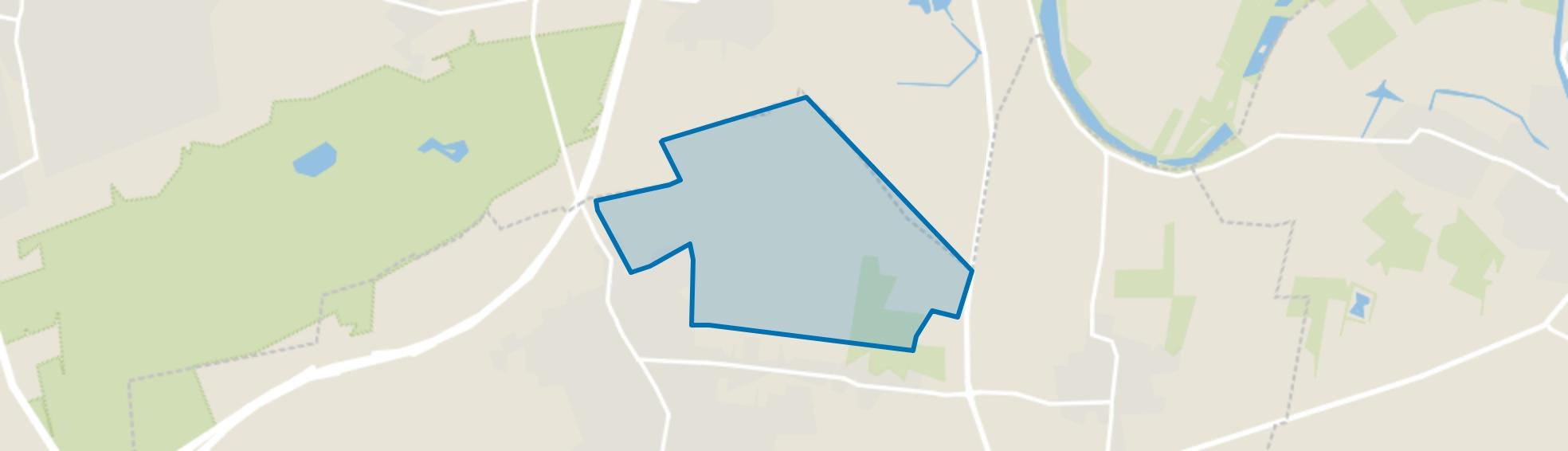 Overige verspreide huizen, Schaijk map