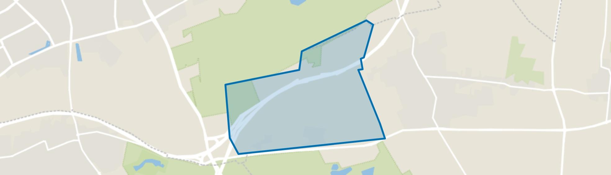Verspreide huizen Mun, Schaijk map