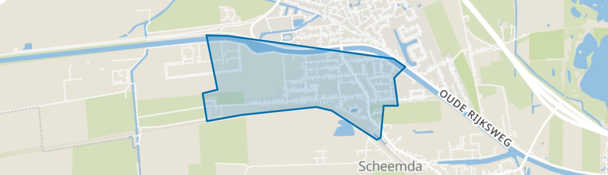 Eexta, Scheemda map