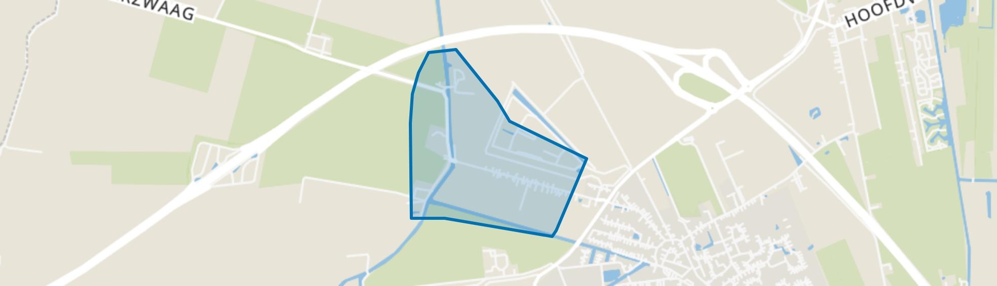 Scheemderzwaag, Scheemda map