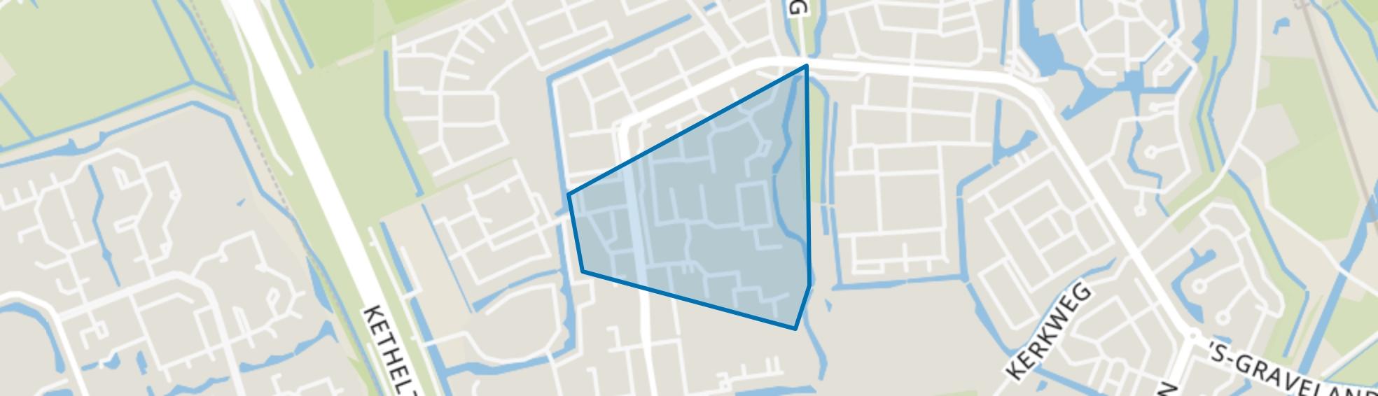 Botenbuurt, Schiedam map