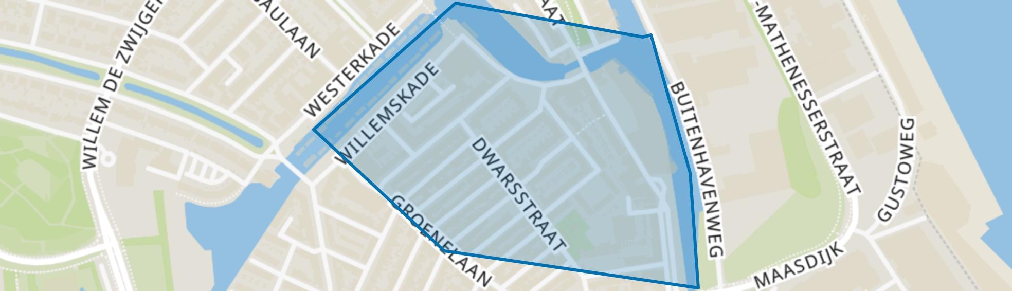 Noletbuurt, Schiedam map