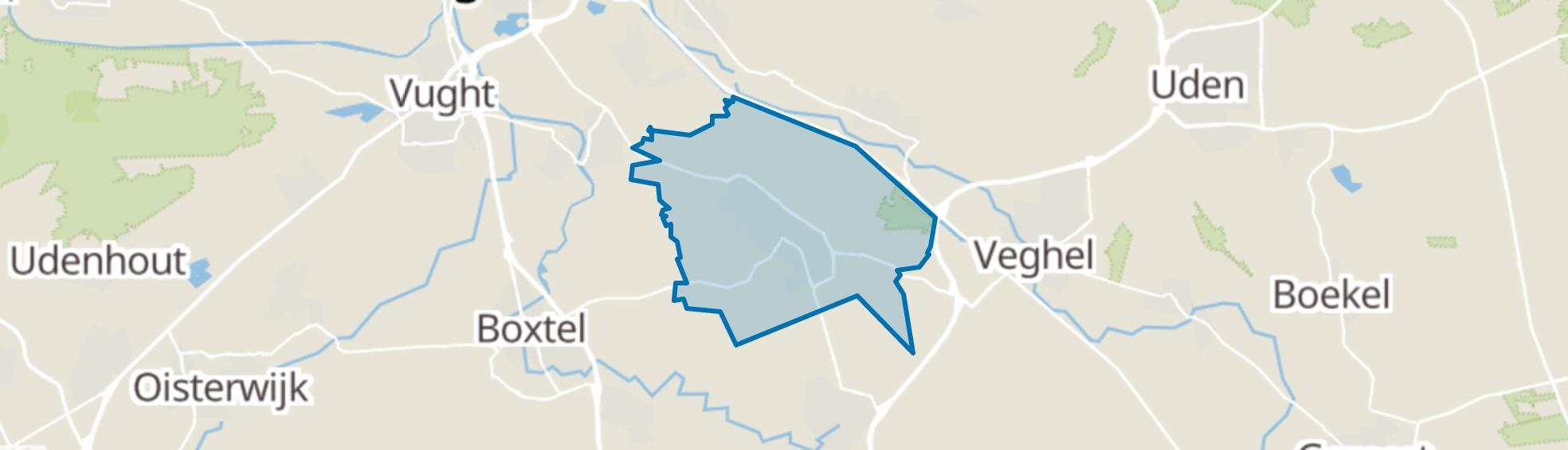 Schijndel map