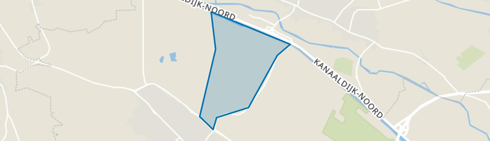 Buitengebied Steeg, Schijndel map