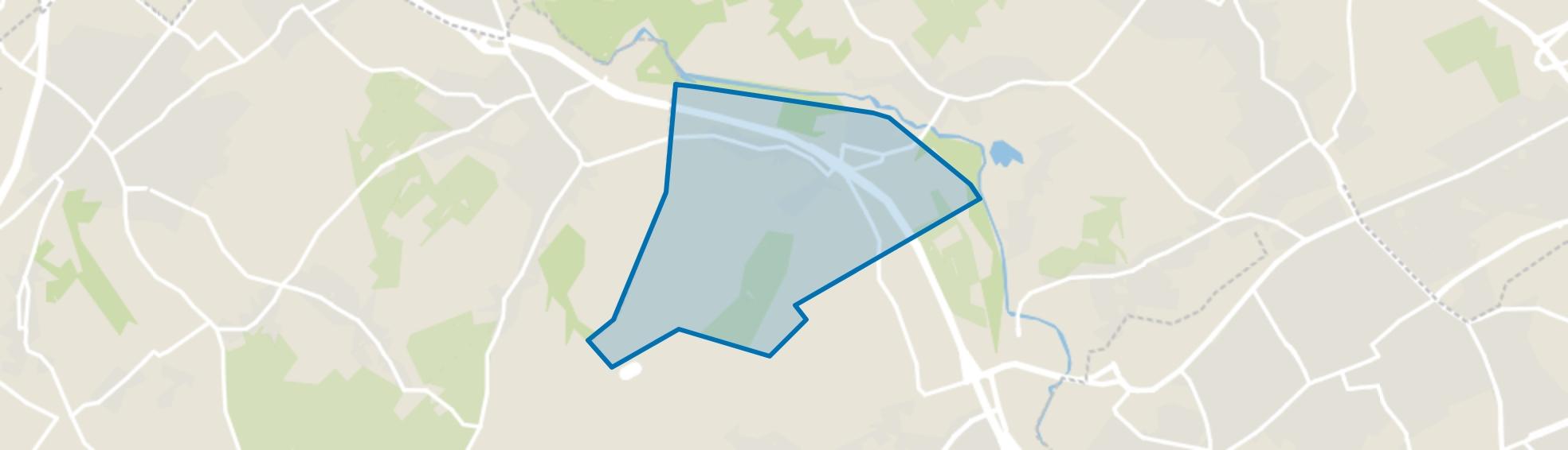 Nagelbeek-Hegge, Schinnen map