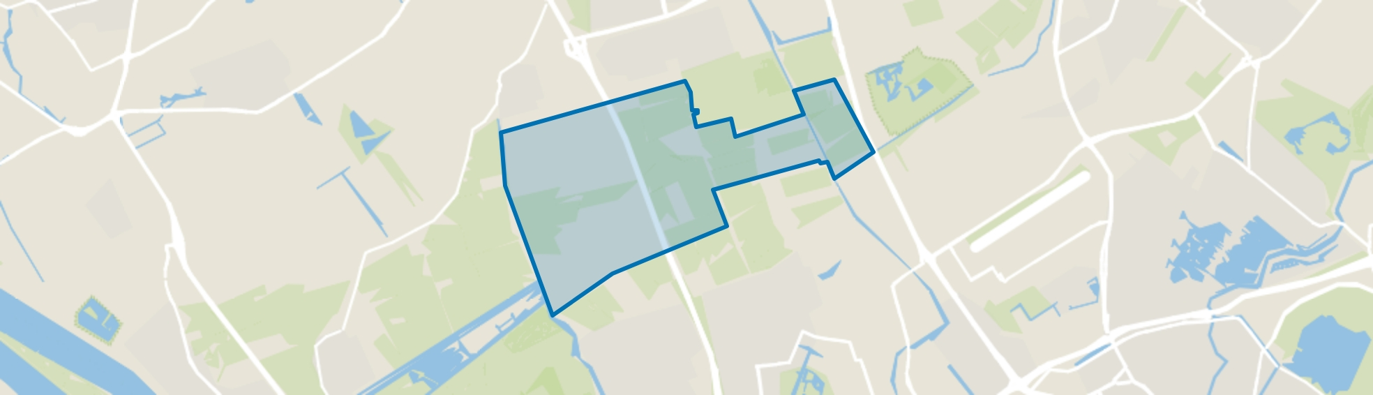Negenhuizen en Zouteveen, Schipluiden map