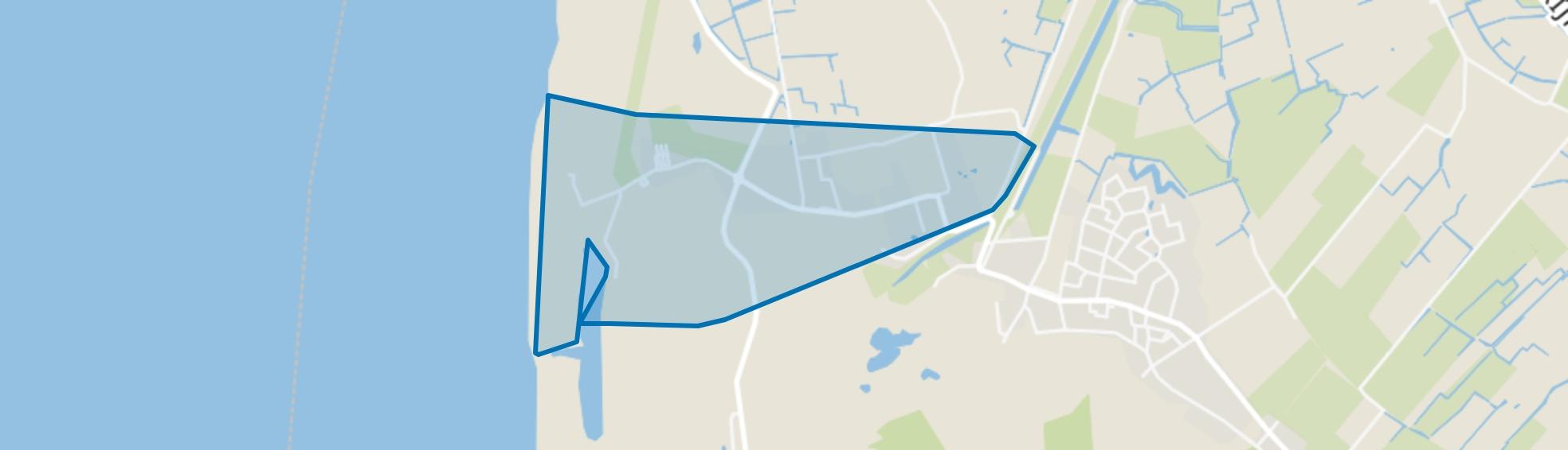 Camperduin, Schoorl map