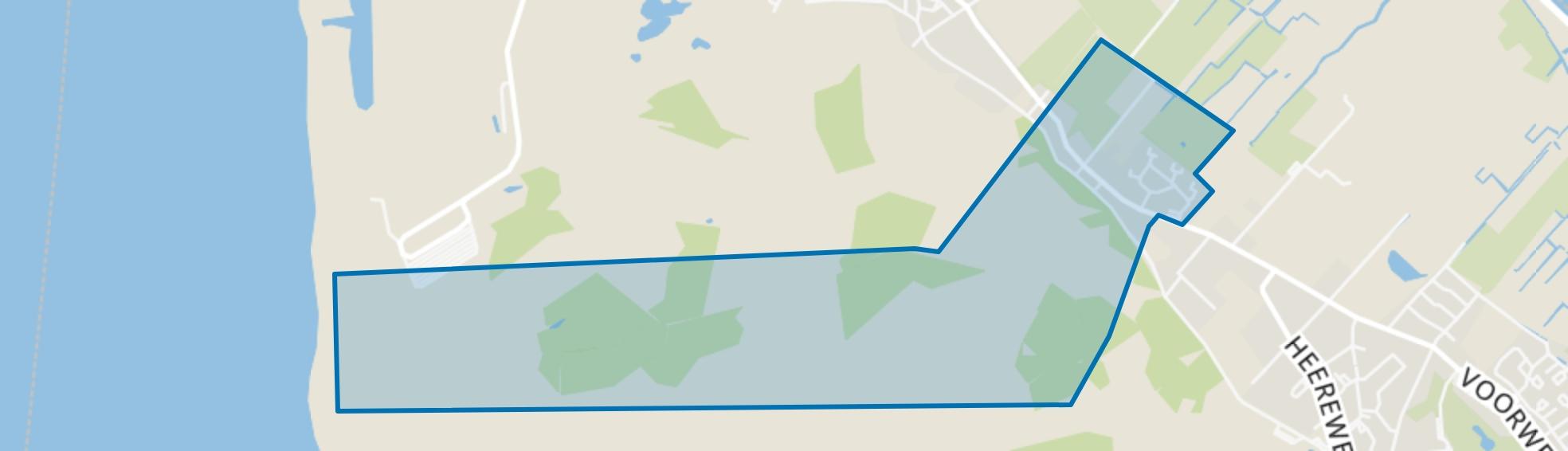 Catrijp, Schoorl map