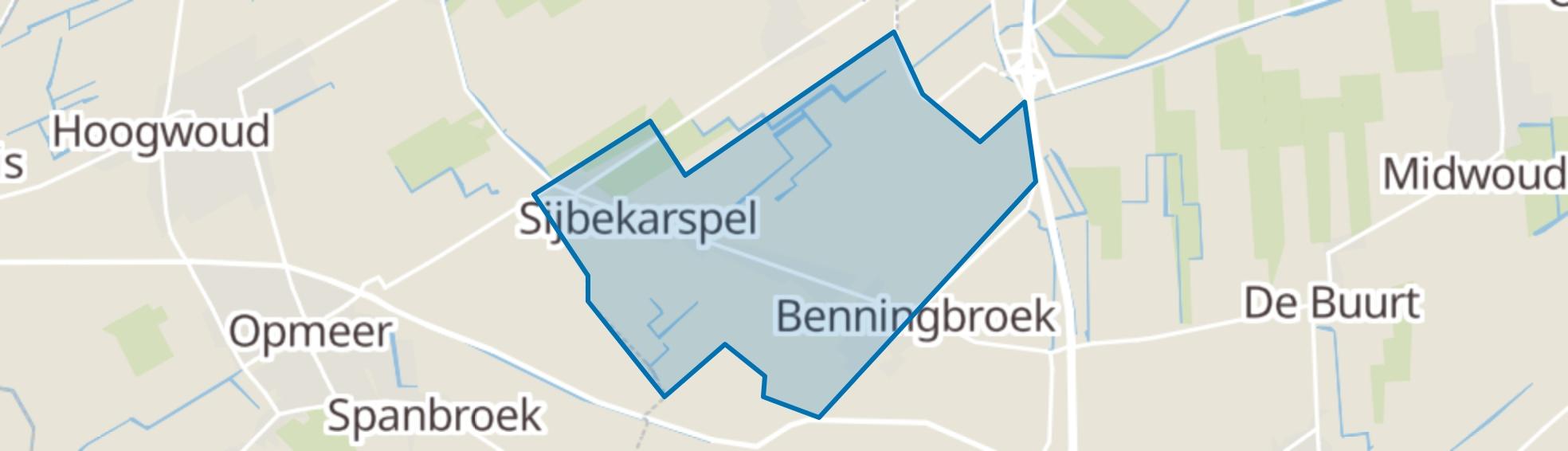 Sijbekarspel map