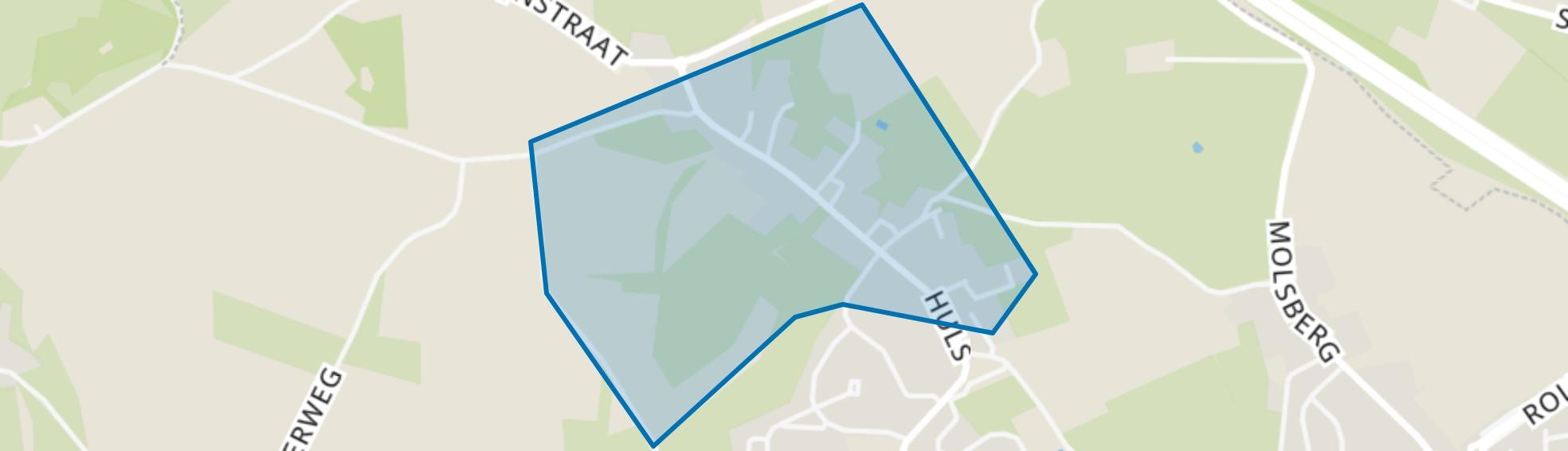 Huls, Simpelveld map