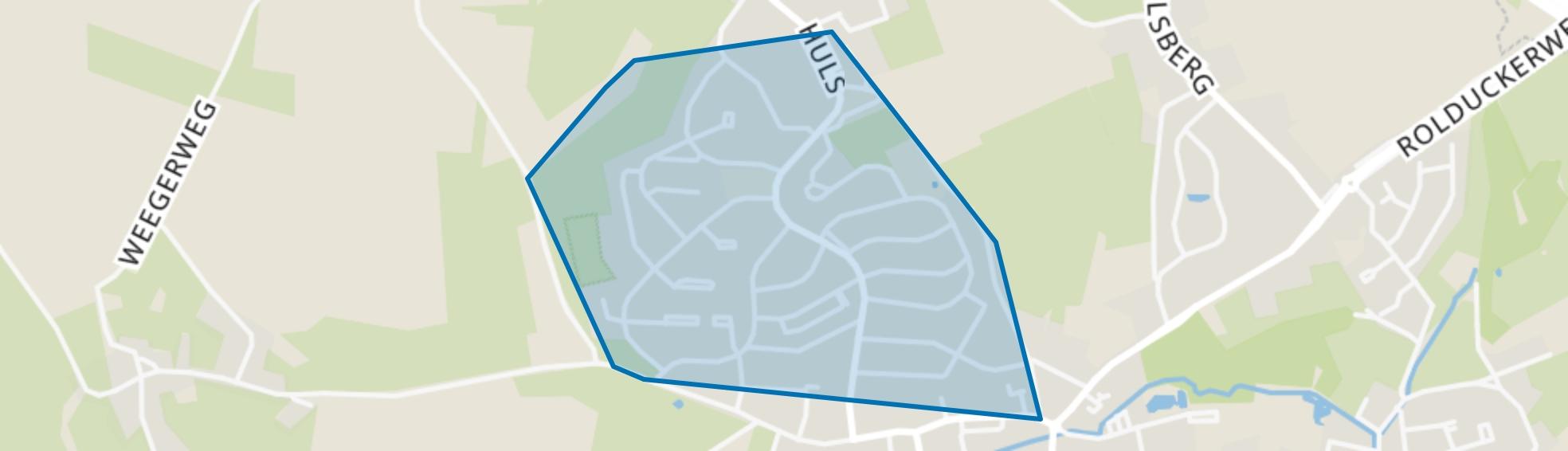 Hulsveld, Simpelveld map