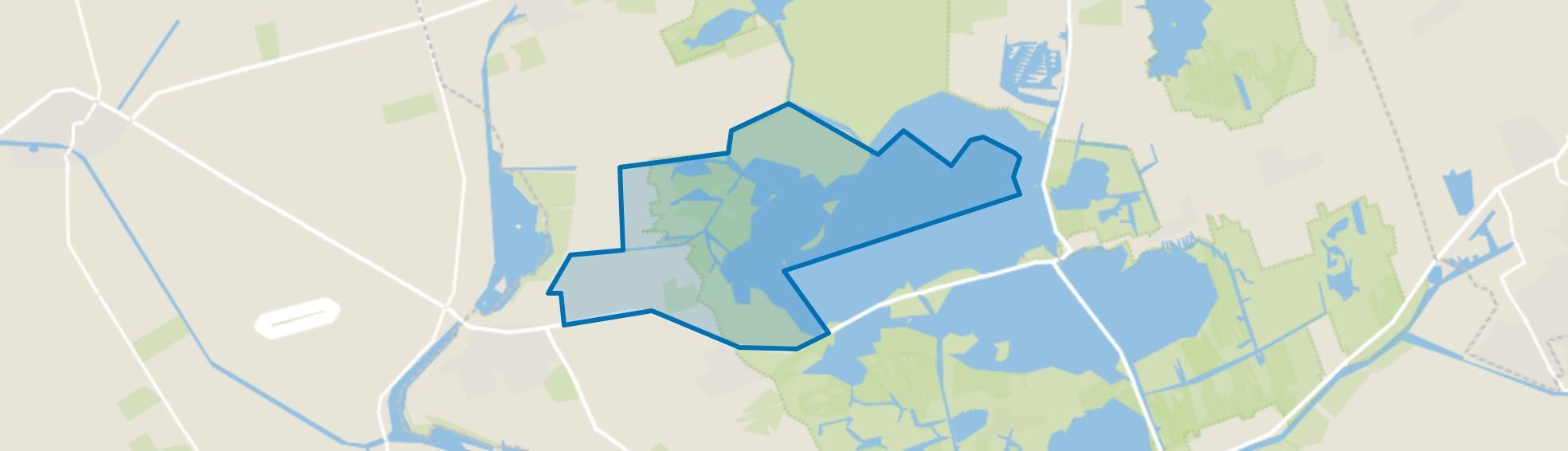 Verspreide huizen Leeuwte (gedeeltelijk), Sint Jansklooster map